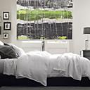 זול פרחים מלאכותיים-Artistic Dreamlike Style Green & Dark Grey Rope Roller Shade