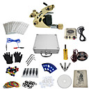 cheap Bakeware-Tattoo Machine Professional Tattoo Kit - 1 pcs Tattoo Machines, Professional Mini power supply Case Included 1 alloy machine liner & shader