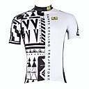 Χαμηλού Κόστους Μαξιλαροθήκες-ILPALADINO Ανδρικά Κοντομάνικο Φανέλα ποδηλασίας Ποδήλατο Αθλητική μπλούζα, Γρήγορο Στέγνωμα, Υπεριώδης Αντίσταση, Αναπνέει