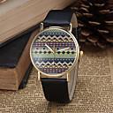 cheap Fashion Watches-Women's Quartz Wrist Watch PU Band Bohemian / Fashion Black / White / Blue / Red / Brown / Pink