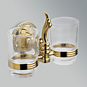cheap Soap Dispensers-Toothbrush Holder Removable Antique Brass 1 pc - Hotel bath
