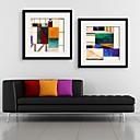 cheap Framed Arts-Fantasy Framed Canvas / Framed Set Wall Art,PVC Black Mat Included With Frame Wall Art