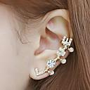 olcso Szintetikus csipke parókák-Női Fül Mandzsetta Mászó fülbevaló Strassz Hamis gyémánt Fülbevaló Szerelem hölgyek Klasszikus kezdeti ékszerek Ékszerek Kompatibilitás Napi Hétköznapi