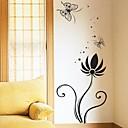 baratos Adesivos de Parede-Vida Imóvel Formas Floral Desenho Animado Fantasia Botânico Adesivos de Parede Autocolantes de Aviões para Parede Autocolantes de Parede