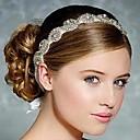 preiswerte Parykopfbedeckungen-Strass / Seide Stirnbänder / Kopfbedeckung mit Blumig 1pc Hochzeit / Besondere Anlässe Kopfschmuck