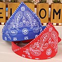 cheap Dog Collars, Harnesses & Leashes-Cat Dog Bandanas & Hats Dog Clothes Black Purple Red Blue Pink PU Leather Cotton Costume For Pets Cosplay Wedding