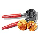 halpa Keittiövälineet-Nopea pähkinä krakkausyksikkö metalli saksanpähkinä sheller plier puinen kahva hard core avaaja evästeet keittiövälineitä