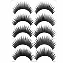 cheap Eyelashes-Eyelash Volumized Natural Curly Thick Cateye Makeup Party Makeup Halloween Makeup Daily Makeup Thick Natural Long Makeup Tools High
