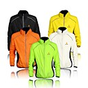 cheap Cycling Underwear & Base Layer-WEST BIKING® Men's Cycling Jacket Bike Jacket Windbreaker Ultraviolet Resistant Jacket Windproof Breathable Reflective Strips Sports Elastane Orange / Yellow / Green Clothing Apparel Bike Wear