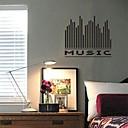 ieftine Acțibilde de Perete-Autocolante de Perete Decorative - Cuvinte și citate autocolante de perete Natură moartă Sufragerie / Dormitor / Cameră de studiu / Birou