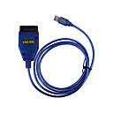 tanie OBD-Kabel diagnostyczny USB OBD2 OBD II KKL409.1 VAG-COM 409