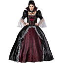 cheap Movie & TV Theme Costumes-Vampire Cosplay Costume Party Costume Women's Halloween Festival / Holiday Halloween Costumes Black/Red Vintage