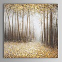 cheap Still Life Paintings-Oil Painting Hand Painted - Landscape Comtemporary Canvas