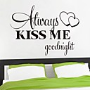 cheap Wall Stickers-Words & Quotes Wall Stickers Plane Wall Stickers Decorative Wall Stickers Home Decoration Wall Decal Wall