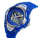baratos Relógio Esportivo-SKMEI Relógio de Pulso Relógio Casual Silicone Banda Amuleto / Casual / Desenho Preta / Azul / Rosa / Dois anos / Maxell626 + 2025
