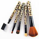 cheap Makeup Brush Sets-5pcs Makeup Brushes Professional Synthetic Hair Professional Plastic