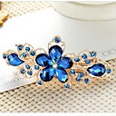 cheap Hair Jewelry-Women's Elegant Rhinestone / Alloy Hair Clip Flower / Barrettes / Barrettes
