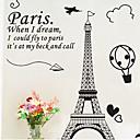 billige Halsbånd-Dekorative Mur Klistermærker - Animal Wall Stickers Dyr / Sille Liv / Romantik Stue / Soveværelse / Spisestue