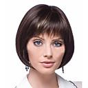 preiswerte Synthetische Perücken ohne Kappe-Synthetische Perücken Bubikopf Synthetische Haare Perücke Damen Kurz