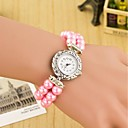 cheap Bracelet Watches-Women's Bracelet Watch / Wrist Watch Hot Sale Leather Band Pearls / Fashion Multi-Colored / One Year / SODA AG4