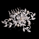 cheap Jewelry Sets-Crystal / Fabric / Alloy Tiaras / Hair Combs with 1 Wedding / Special Occasion / Party / Evening Headpiece