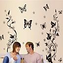 billige Veggklistremerker-Landskap Still Life Romantik Mote Blomster fantasi Botanisk Veggklistremerker Animal Wall Stickers Dekorative Mur Klistermærker, Vinyl