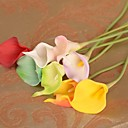 cheap Artificial Flower-Artificial Flowers 1 Branch Modern Style Calla Lily Tabletop Flower