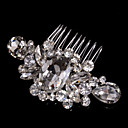 cheap Party Headpieces-Alloy Hair Combs / Headwear with Floral 1pc Wedding / Special Occasion / Casual Headpiece