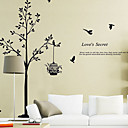 cheap Wall Stickers-Decorative Wall Stickers - Words & Quotes Wall Stickers Animals / Still Life / Fashion / Shapes / Words & Quotes / Fantasy / Botanical