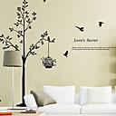 preiswerte Wand-Sticker-Dekorative Wand Sticker - Worte & Zitate Wandaufkleber Tiere / Stillleben / Mode / Formen / Worte & Zitate / Fantasie / Botanisch
