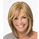 cheap Hair Accessories-Synthetic Wig Straight Blonde Synthetic Hair 12 inch Blonde Wig Women's Short Brown