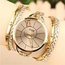 abordables Relojes Brazalete-Mujer Reloj Pulsera Gran venta Piel Banda Bohemio / Moda / Reloj de Vestir Blanco / Azul / Marrón / Un año / SODA AG4