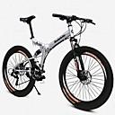 baratos Bell & Locks & Mirrors-Bicicleta De Montanha / Bicicleta Dobrável Ciclismo 21 velocidade 26 polegadas / 700CC BRILHO SYS Freio a Disco Duplo Quadro Solftail Liga de alumínio