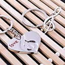 cheap Keychain Favors-Party / Evening / Valentine Material Stainless Steel Wedding Decorations Holiday Spring, Fall, Winter, Summer