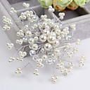 cheap Party Headpieces-Crystal Imitation Pearl Hair Combs Flowers 1 Wedding Special Occasion Casual Headpiece