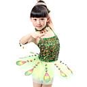 preiswerte Kronleuchter-Ballett Kleider Leistung Polyester / Tüll Paillette Ärmellos Normal Kleid / Neckwear / Armbänder / Aufführung