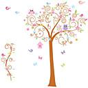 billige Veggklistremerker-Dyr Former Botanisk Veggklistremerker Fly vægklistermærker Dekorative Mur Klistermærker Hjem Dekor Veggoverføringsbilde Vegg