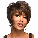 cheap LED Bulbs-Synthetic Wig Synthetic Hair Brown Wig Women's Short
