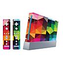 billige Wii-tilbehør-B-SKIN Klistremerke Til Wii U / Wii ,  Originale Klistremerke PVC 1 pcs enhet