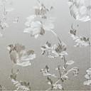 preiswerte Fensterfolie & Aufkleber-Fenster Film & Aufkleber Dekoration Landhaus Stil Blumen PVC / Vinyl Fensterfolie / Esszimmer / Schlafzimmer / Wohnzimmer
