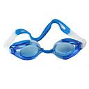 preiswerte Schwimmbrille-Schwimmbrille Verstellbare Größe Wasserdicht Kunststoff Kunststoff Dunkelblau Durchsichtig