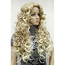 cheap Costume Wigs-Synthetic Wig Blonde Synthetic Hair Ombre Hair / Side Part Blonde Wig Long