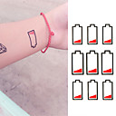 cheap Temporary Paints-1 pcs Temporary Tattoos Waterproof / Non Toxic Paper Tattoo Stickers / Lower Back