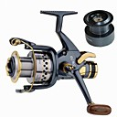 cheap Fishing Rods-Fishing Reel Carp Fishing Reels 5.2:1 Gear Ratio+10 Ball Bearings Hand Orientation Exchangable Sea Fishing Spinning Freshwater Fishing