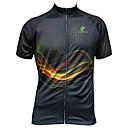 baratos Camisas Para Ciclismo-JESOCYCLING Homens / Mulheres Manga Curta Camisa para Ciclismo Moto Camisa / Roupas Para Esporte, Secagem Rápida, Resistente Raios Ultravioleta, Respirável / Com Stretch