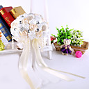 "cheap Party Headpieces-Wedding Flowers Bouquets Wedding Party / Evening Crystal Rhinestone Satin Foam 15.75""(Approx.40cm)"