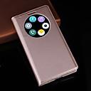 olcso Mobiltelefon tokok & Képernyő védők-Case Kompatibilitás LG G3 LG LG tok Állvánnyal Betekintő ablakkal Héjtok Tömör szín Kemény PU bőr mert