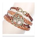 billige Mode Armbånd-Lag-på-lag Armbånd - Fugl, Musiknode, Dyr Vedhæng, Vintage, Europæisk Armbånd Til Afslappet
