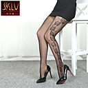 cheap Women's Boots-Women's Thin Pantyhose-Jacquard