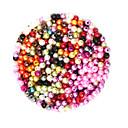 זול חרוזים-תכשיטים DIY 2000 יח חרוזים פלסטי עגול Round Shape חָרוּז 0.4 cm עשה זאת בעצמך שרשראות צמידים